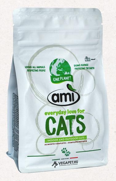Ami Cat vegán száraztáp macskáknak 300 g