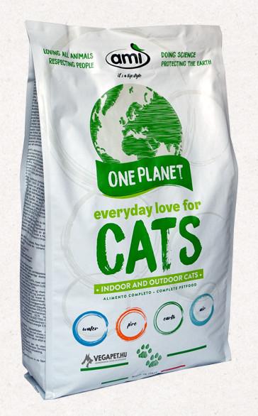 Ami Cat vegán száraztáp macskáknak 7,5 kg