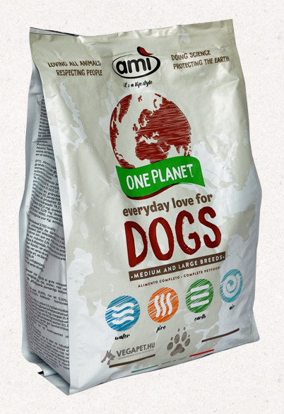Ami Dog vegán száraztáp kutyáknak 3 kg
