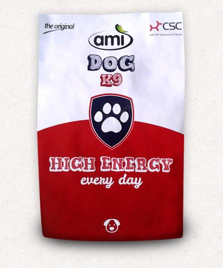 Ami Dog K9 High Energy vegán száraztáp kutyáknak 10 kg