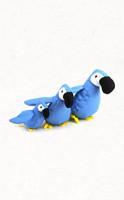Beco plüssfigura kutyáknak - papagáj