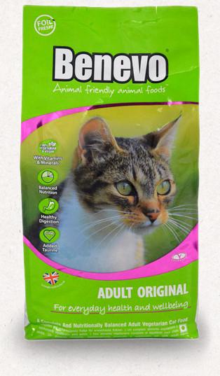 Benevo Cat vegán száraztáp macskáknak 10 kg
