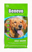 Benevo Dog Original vegán száraztáp kutyáknak 15 kg