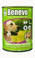 Benevo Duo macska- és kutya nedvestáp 369 g