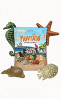 Benevo Pawtato Ocean Treats - spirulinával és wakaméval 125 g