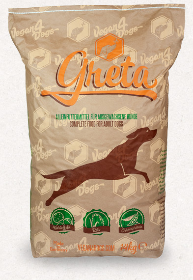 Greta vegán száraztáp kutyáknak 14 kg