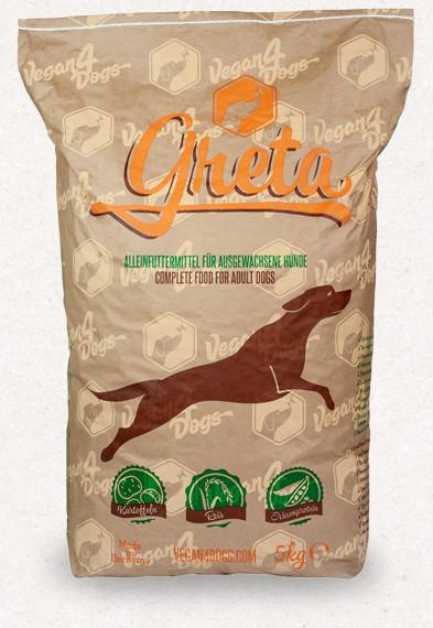 Greta vegán száraztáp kutyáknak 5 kg
