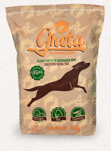 Greta Small Kibble vegán száraztáp kutyáknak 10 kg