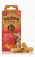 SOOPA Dental Sticks - vörös áfonyával és édesburgonyával 100 g