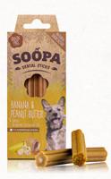 SOOPA Dental Sticks - banánnal és mogyoróvajjal 100 g