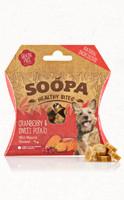 SOOPA Healthy Bites - vörös áfonyával és édesburgonyával 50 g