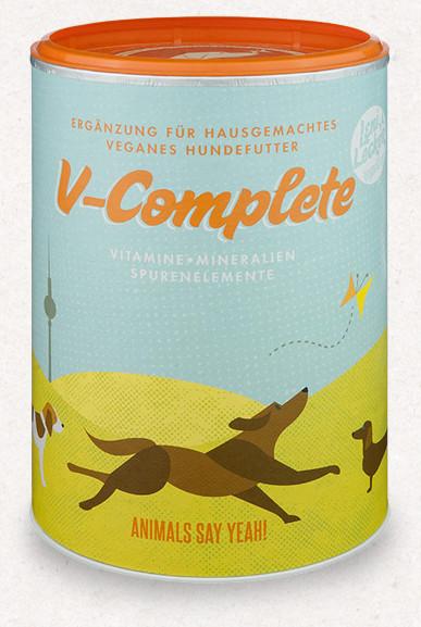 V-Complete vegán táplálékkiegészítő 650 g