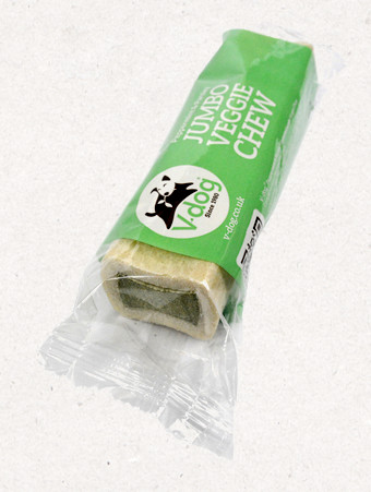 V-dog Jumbo Veggie Chew növényi rágócsont 210 g